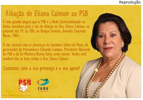 Eliana no PSB