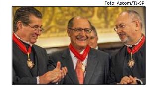 Nalini, Alckmin e Sartori