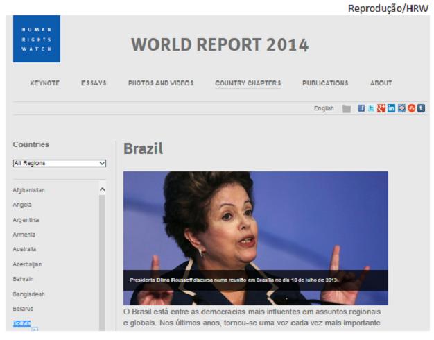 Relatório Direitos Humanos