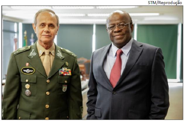 Barbosa e general do STM