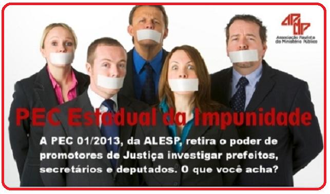PEC Estadual da Impunidade