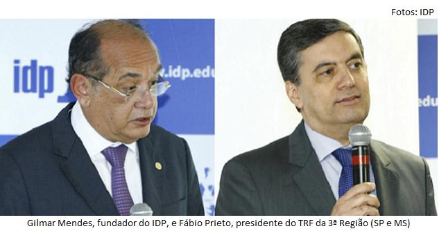 Prieto e Gilmar Mendes