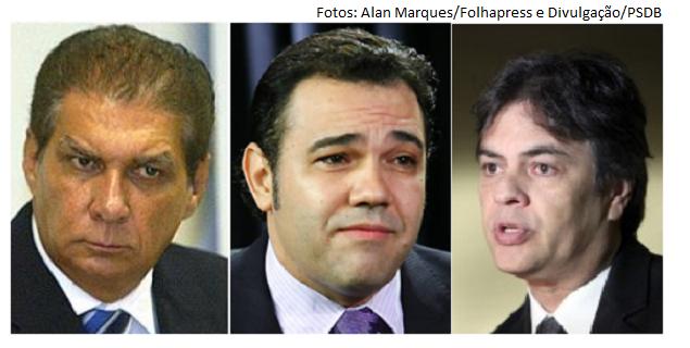 Jáder Barbalho, Feliciano e Cássio Cunha Lima