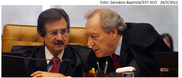 Ricardo Lewandowski e Cezar Peluso