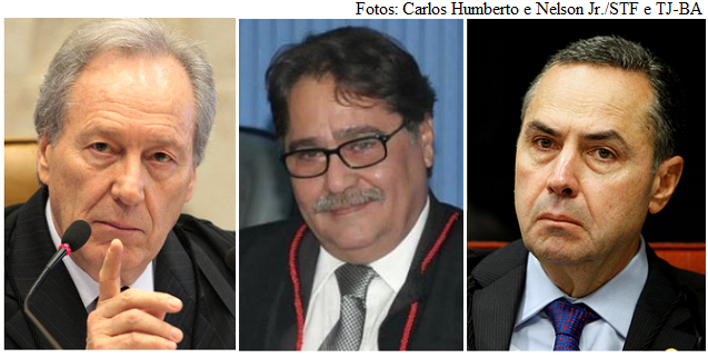 Lewandowski, Hirs e Barroso