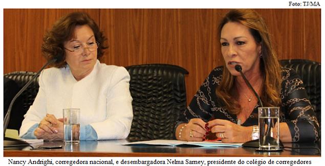 Andrighi e Nelma Sarney