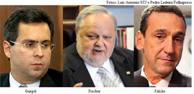 Falcão, Fischer e Gurgel