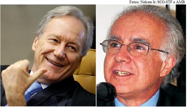 Lewandowski e Joaquim Falcão