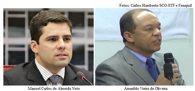 Manoel Carlos e Amarildo Vieira