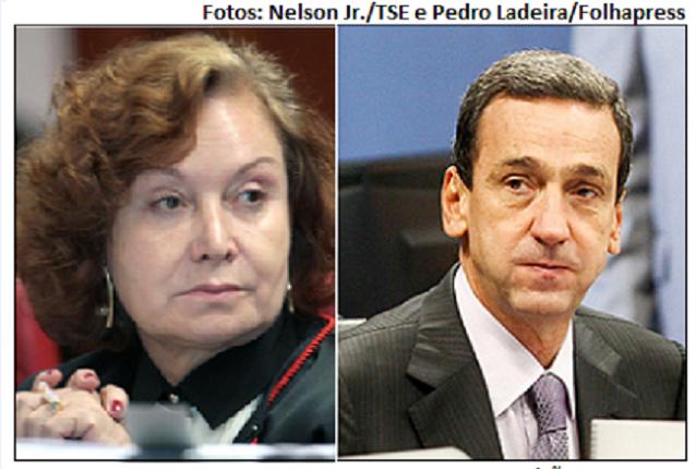 Nancy Andrighi e Francisco Falcão