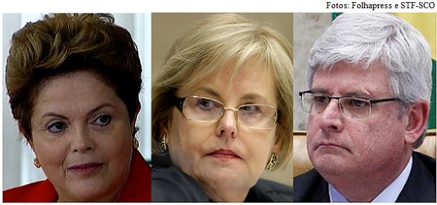 Dilma, Rosa e Janot