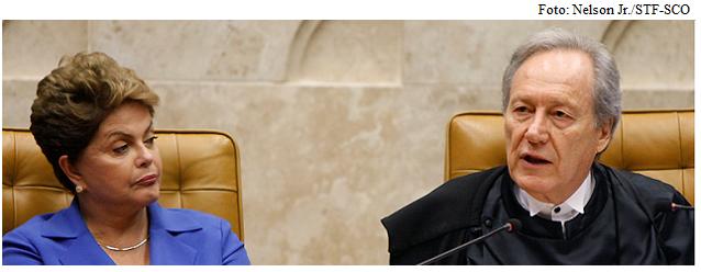 Dilma e Lewandowski