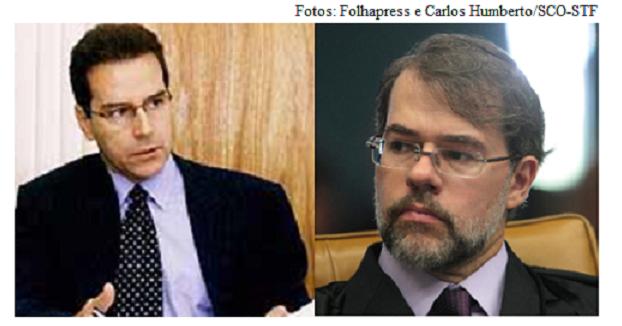 Luiz Estevão e Dias Toffoli