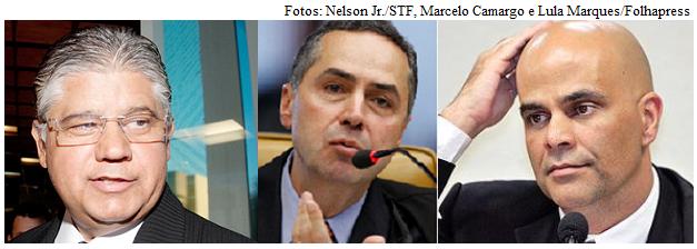 Clésio, Barroso e Valério