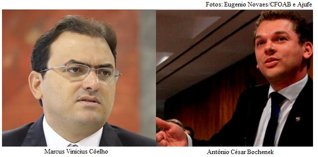 Marcus Vinicius Coelho e Antônio Cesar Bochenek