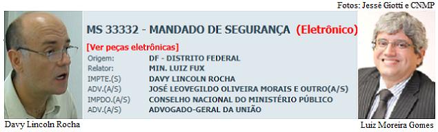 Davy Lincoln Rocha e Luiz Moreira Gomes