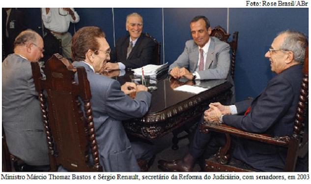 Sérgio Renault e Thomaz Bastos