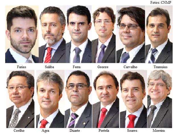 Conselheiros do CNMP