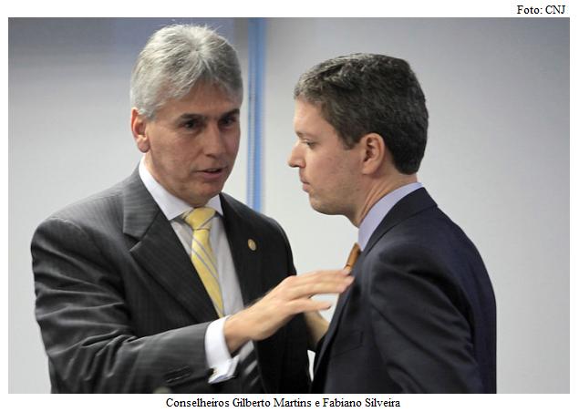 Gilberto Martins e Fabiano Silveira