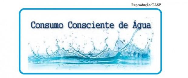 TJ-SP e consumo de água