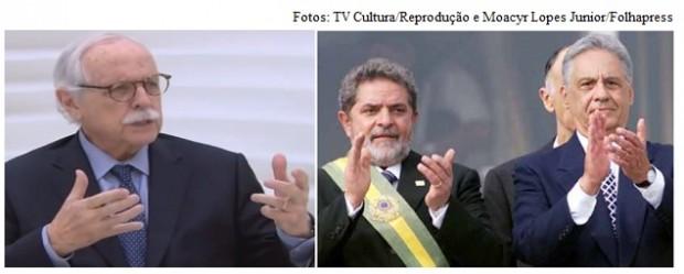 Carvalhosa, Lula e FHC