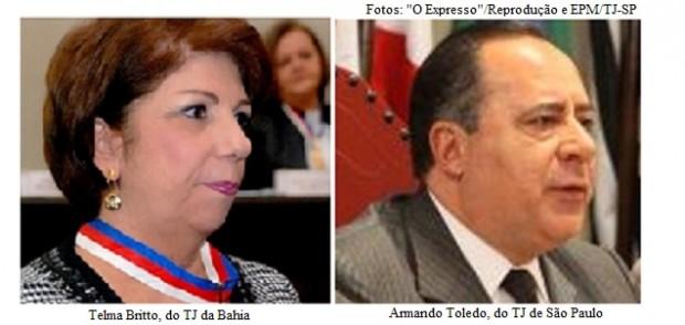 Telma Britto e Armando Toledo