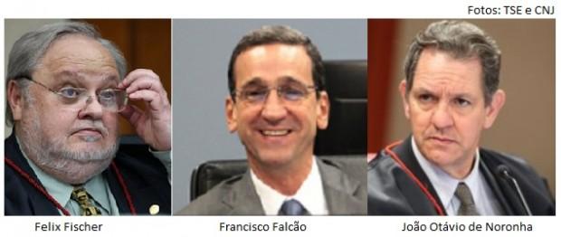 Fischer, Falcão e Noronha