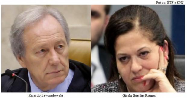 Lewandowski e Gisela Gondin Ramos