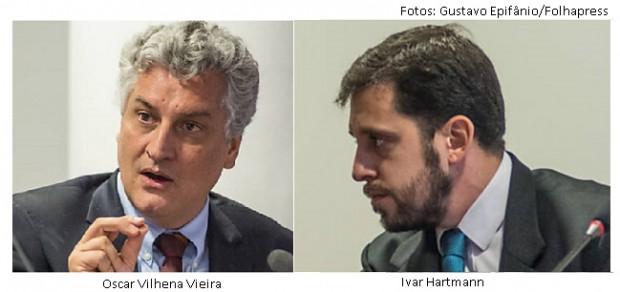 Oscar Vilhena e Ivar Hartmann