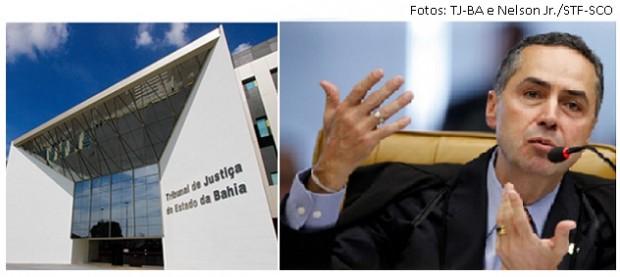 Barroso e TJ da Bahia
