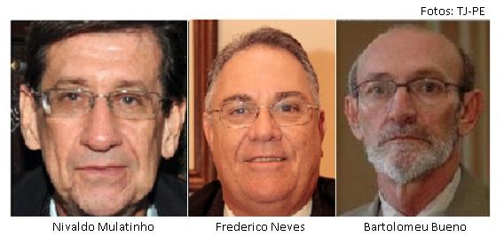 Nivaldo Mulatinho, Frederico Neves, Bartolomeu Bueno