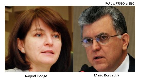 Raquel Dodge e Mario Bonsaglia