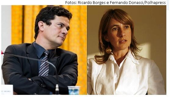 Sergio Moro e Dora Cavalcante