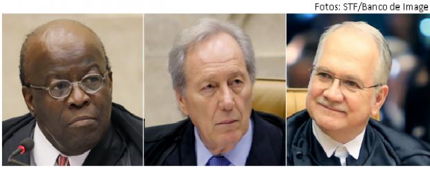 Barbosa, Lewandowski e Fachin