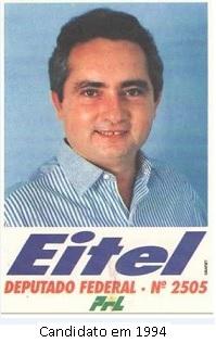 Eitel Santiado candidato em 1994