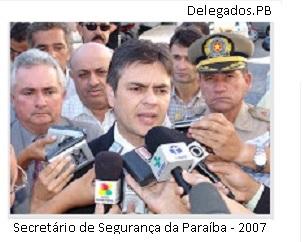 Eitel Santiago Secretário de Segurança 2007