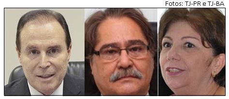 Ex presidentes de tribunais afastados