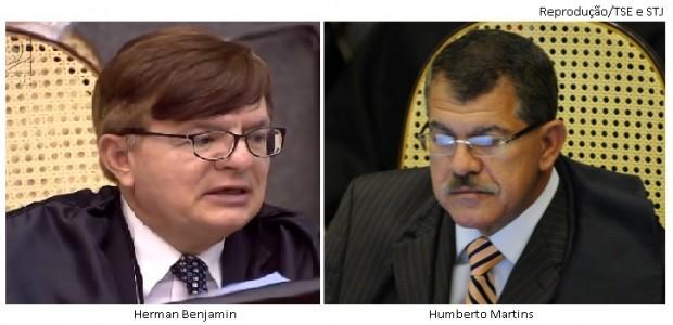 Herman Benjamin e Humberto Martins
