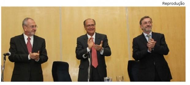 Nalini, Alckmin e Elias Rosa