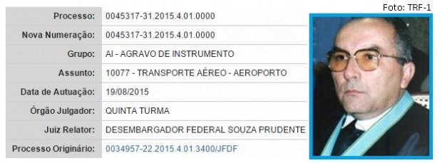 Antônio Prudente e liminar transporte aéreo