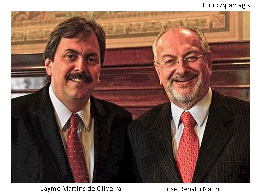 Jayme Oliveira e Renato Nalini
