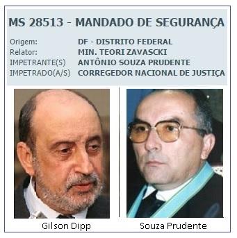 Souza Prudente e Gilson Dipp