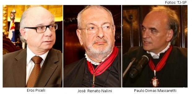 Eros Piceli, Nalini e Paulo Dimas Mascaretti