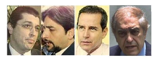 Fábio Monteiro, Eduardo Ferraz, Estevão e Lalau