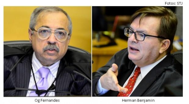 Og Fernandes e Herman Benjamin
