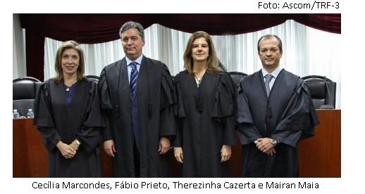 Cecília Marcondes, Prieto, Cazerta e Mairan Maia