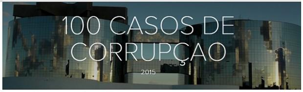 MPF e catálogo sobre corrupção
