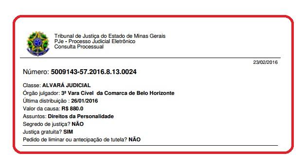 ALVARÁ JUDICIAL CASO NASCITURO