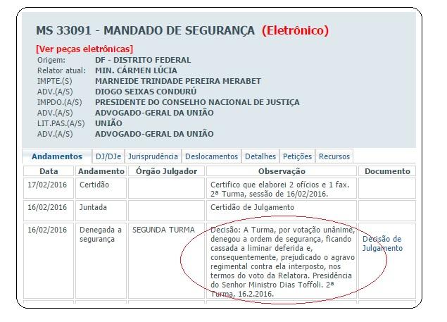 Decisão juízas do Pará