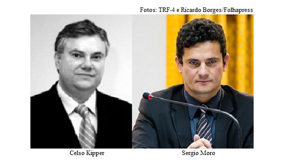 Celso Kipper e Sergio Moro